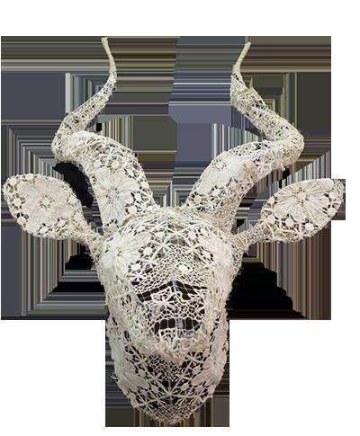 Trophée «Kudu En Dentelle De Calais»
