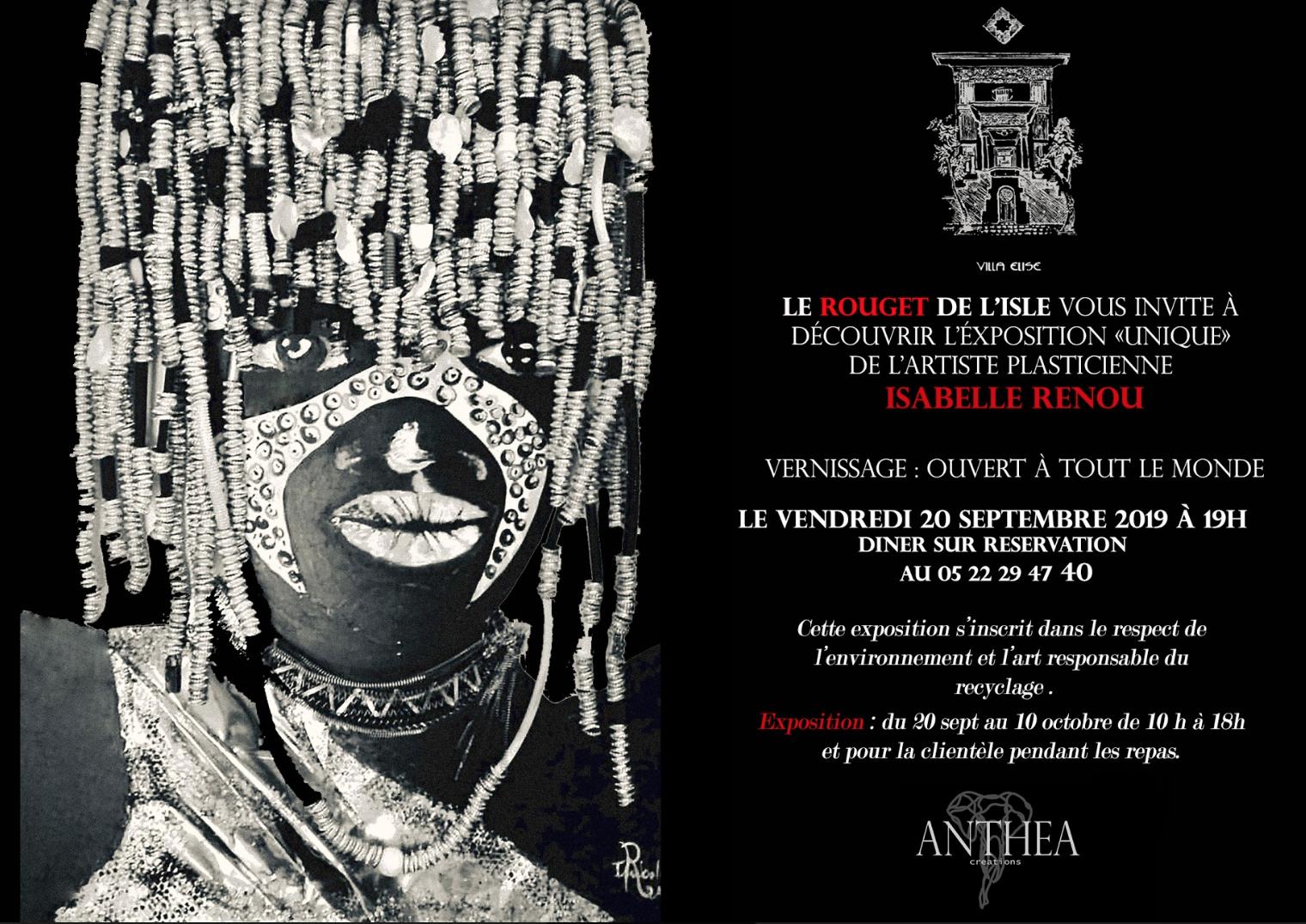 EXPOSITION Individuelle ROUGET DE L'ISLE A CASABLANCA Du 18 Septembre Au 10 Octobre 2019
